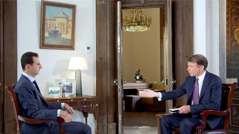 Al-Assad: US not Serious about fighting ISIS