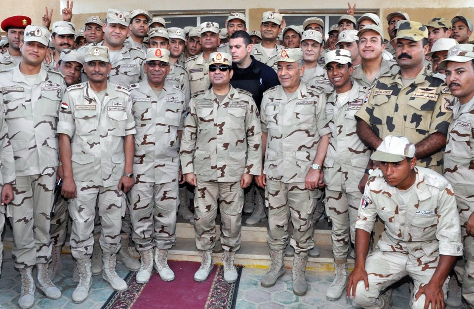 Egypt's Armed Forces Pay Rising Dramatically Since July 3