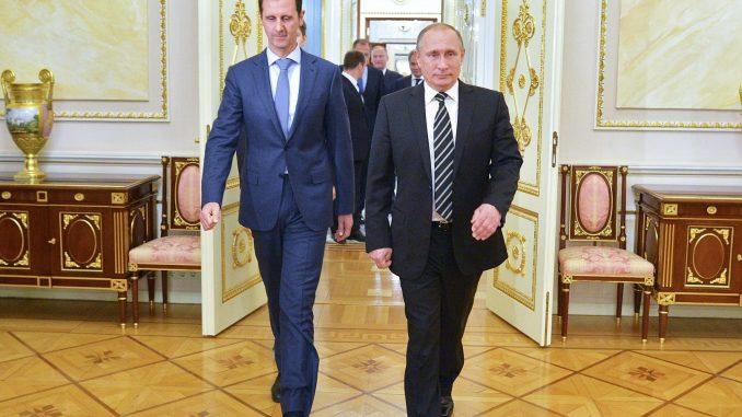 Putin says Syria peace talks to restart soon